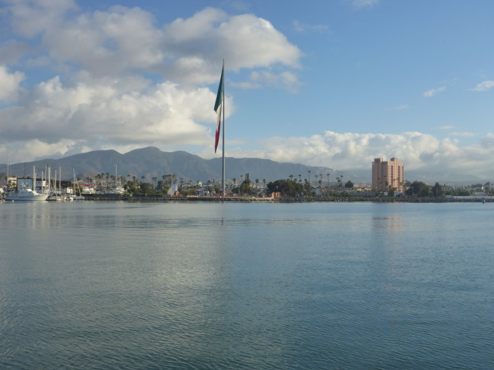 Arriving in Ensenada